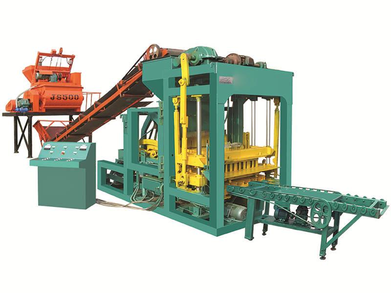 QTJ4-25 interlocking brick machine