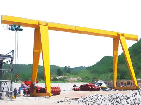 4 ton single gantry crane sales